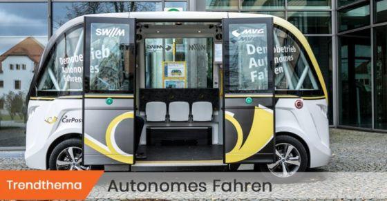 Symbolbild Trendthema Autonomes Fahren (c) Florian Peljak/SZ Photo