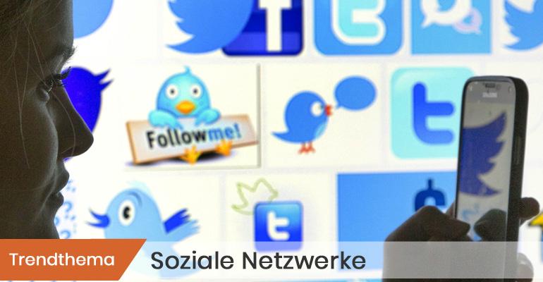Symbolbild Trendthema Soziale Netzwerke © Jochen Eckel/SZ Photo