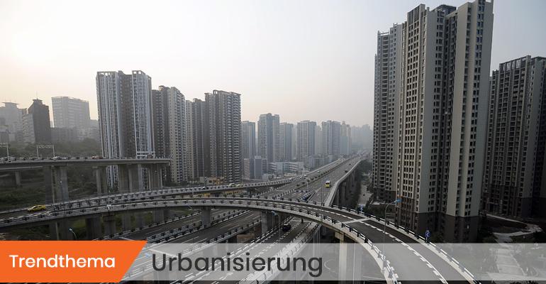 Symbolbild Trendthema Urbanisierung © Olaf Schülke/SZ Photo