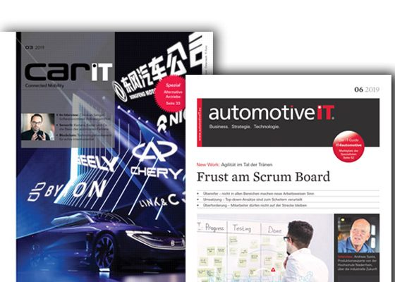 Cover CarIT und automotiveIT(c) Media-Manufaktur GmbH