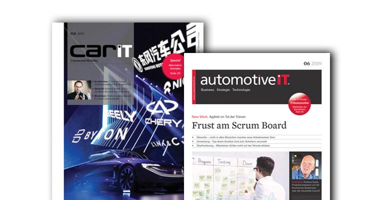 Cover CarIT und automotiveIT(c) Media-Manufaktur GmbH